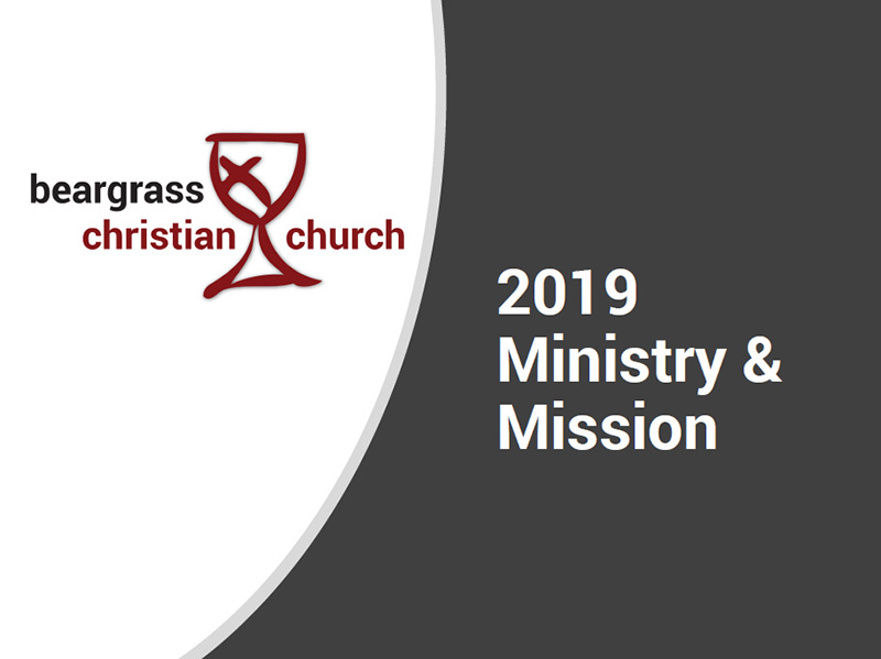 2019 Ministry Mission Beargrass
